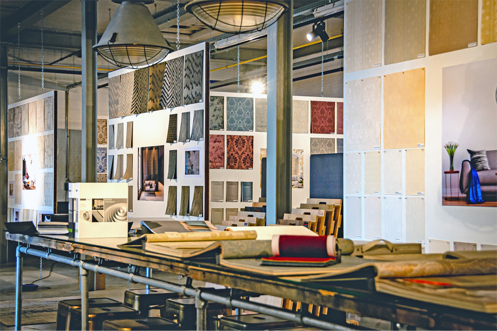 Calcutta Interiors showroom